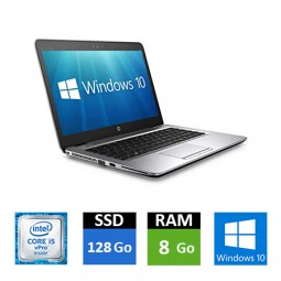 HP EliteBook 840 G3 - Core i5 - 8 Go RAM - SSD 128 Go
