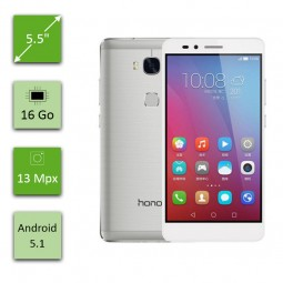 Huawei Honor 5X - 16 Go - Argent
