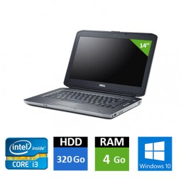 DELL Latitude E5430 - Core i3 - 4 Go RAM - HDD 320 Go