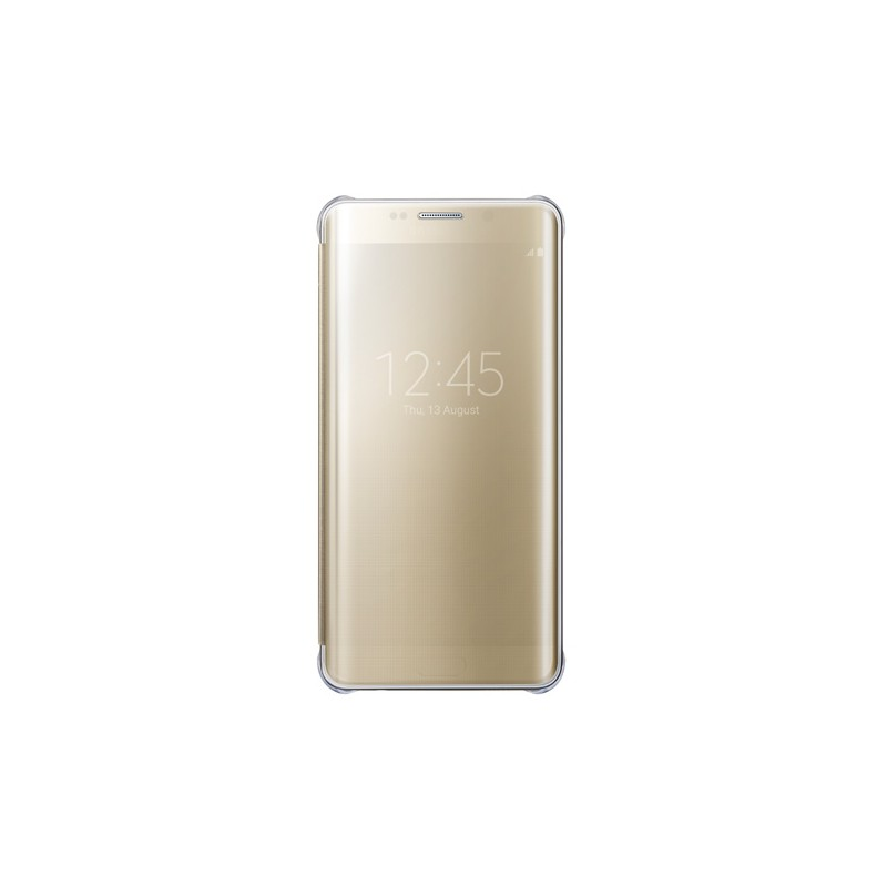 Coque Clear View Cover Galaxy S6 Edge Plus - OR